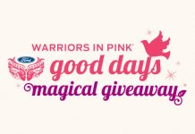HallmarkChannel.com/FordWarriorsInPinkGiveaway - Good Days Magical Giveaway