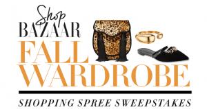 HarpersBazaar.com/FallWardRobe - Harper's BAZAAR Fall Wardrobe Shopping Sweepstakes