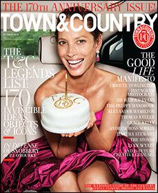 town and country mag cover