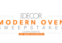 elledecor.com/jennair - ElleDecor.com Jenn-Air Modern Oven Sweepstakes