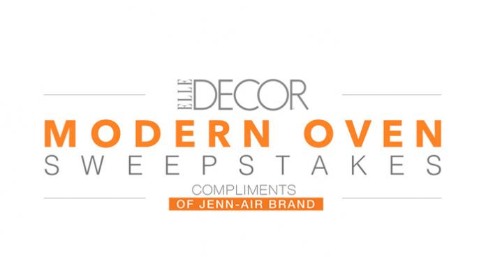 elledecor.com/jennair - ElleDecor.com Jenn-Air Modern Oven Sweepstakes