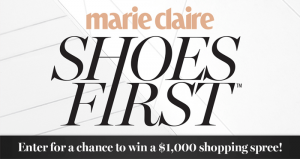 marieclaire.com/hsnsweeps - Marie Claire & HSN Shoes First Sweepstakes 2016