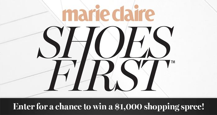 marie claire giveaways