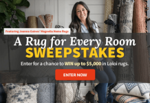 BHG A Rug for Every Room Sweepstakes (BHG.com/LoloiRugs)