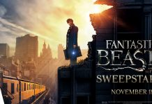 Fandango's Fantastic Beasts and Where to Find Them Sweepstakes