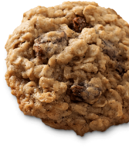 Mrs. Claus' Classic Oatmeal Raisin Cookies