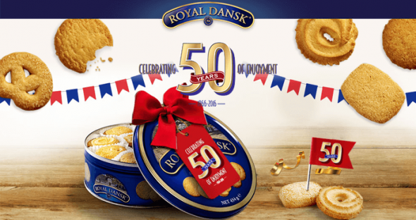 Royal Dansk 50th Anniversary Sweepstakes