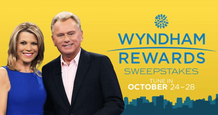 Wheel Of Fortune Wyndham Rewards Sweepstakes 2016
