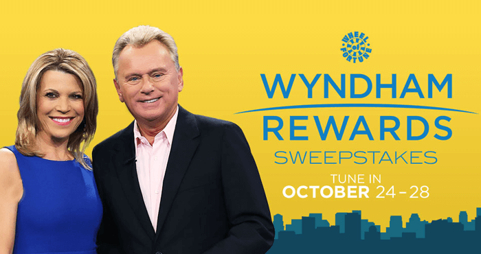 Wheel Of Fortune Wyndham Rewards Sweepstakes 2016
