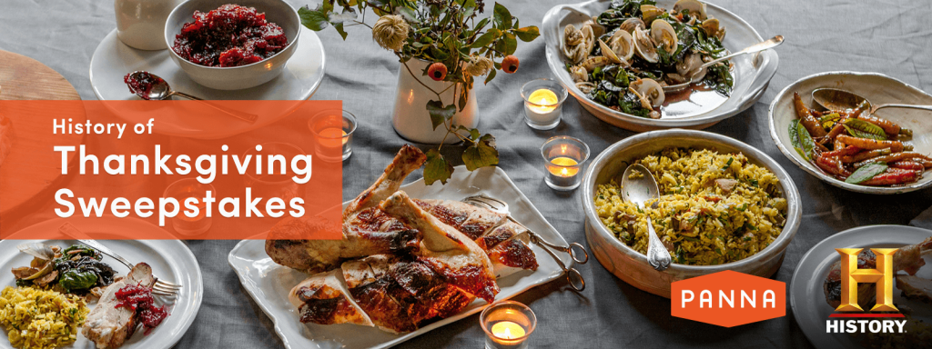History of Thanksgiving Sweepstakes 2016 (History.com/ThanksgivingSweepstakes)