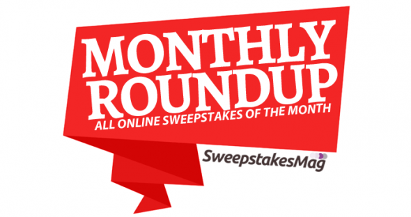 Monthly Roundup (December 2016): All Online Sweepstakes Of The Month