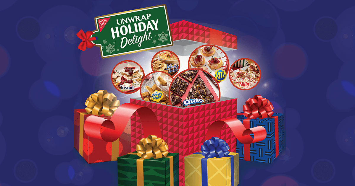 Nabisco Unwrap Holiday Delight Sweepstakes (UnwrapHolidayDelight.com)