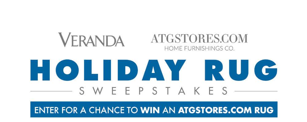 Veranda ATG Holiday Rug Sweepstakes (Veranda.com/ATG)