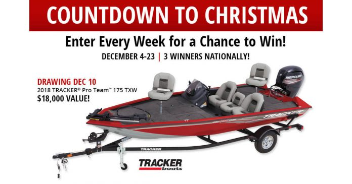 Bass Pro Shops Countdown To Christmas Sweepstakes 2017