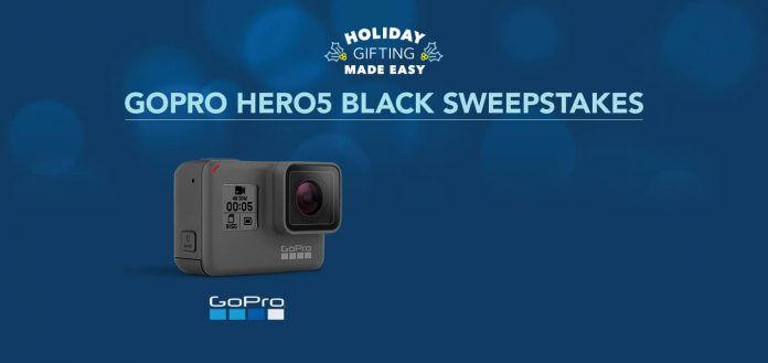 Best Buy GoPro Holiday Sweepstakes (BestBuy.com/GoProSweepstakes)