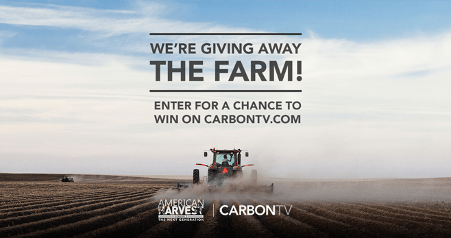 CarbonTV American Harvest 2 Sweepstakes (CarbonTV.com/Sweepstakes)