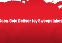Coca-Cola Deliver Joy Sweepstakes (CokePlayToWin.com/DeliverJoy)