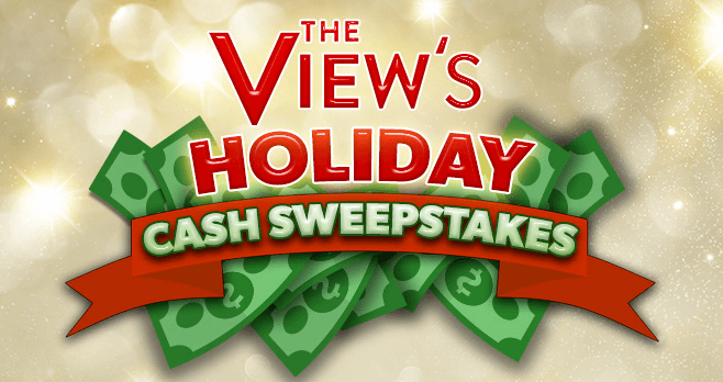 The View Holiday Cash Sweepstakes 2016