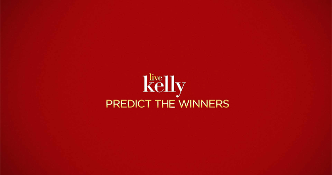 Live With Kelly Predict The Winners Contest 2017
