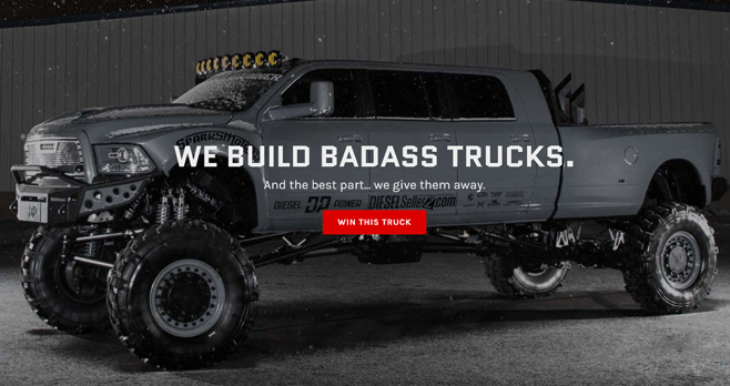 dieselsellerz current giveaway truck