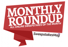All Online Sweepstakes Of The Month: January 2017