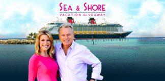 Wheel Of Fortune Disney Sea & Shore Sweepstakes 2018