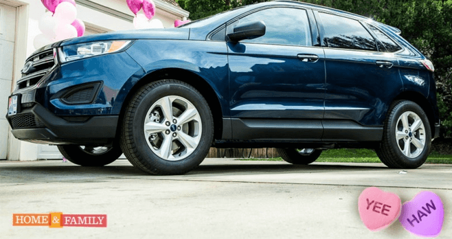 Home And Family Ford Edge SE Facebook Giveaway