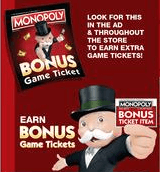 monopoly albertsons 2017 game pieces