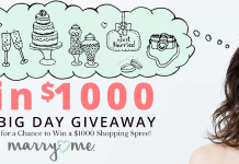Marry Me by Oriental Trading Your Big Day $1,000 Monthly Giveaway 2018