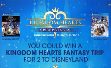 Kingdom Hearts Sweepstakes