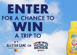 MLB.com Clean Up And Win Sweepstakes 2018