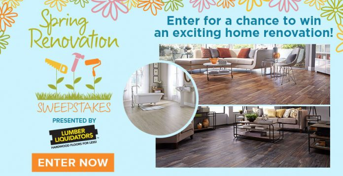 Hallmark channel spring renovation sweepstakes 2017 how Home renovation channel