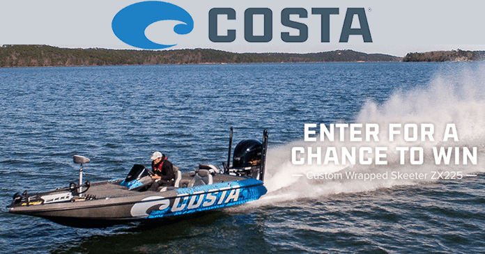 Costa Bass Boat Giveaway 2017