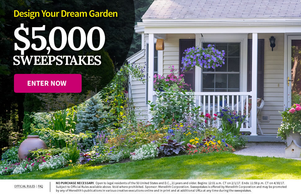 Design Your Dream Garden $5,000 Sweepstakes