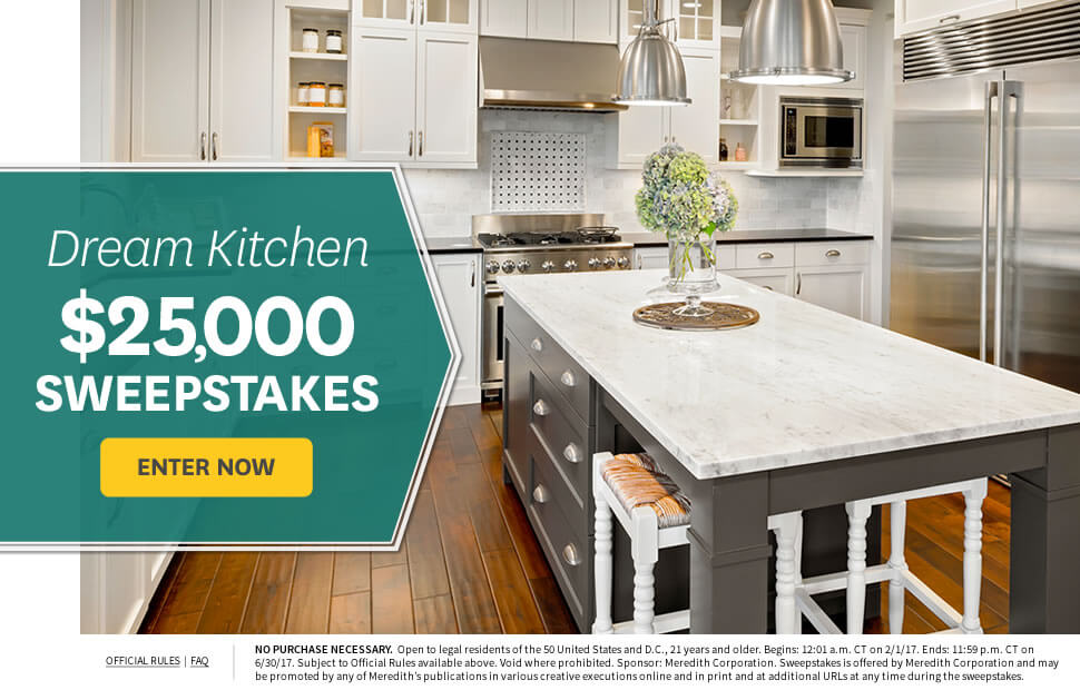 Dream Kitchen $25,000 Sweepstakes