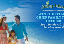 Juicy Juice Chief Family Time Officer Search Contest