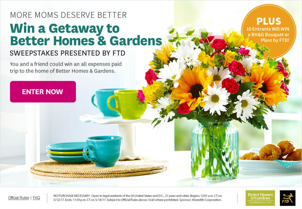 More Moms Deserve Better Sweepstakes