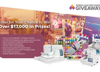 American Quilter Grand Giveaway 2018
