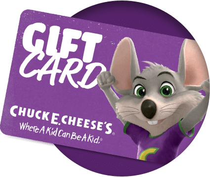 Chuck E. Cheese's gift card
