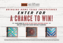 HGTV Bringing Home Texas Sweepstakes