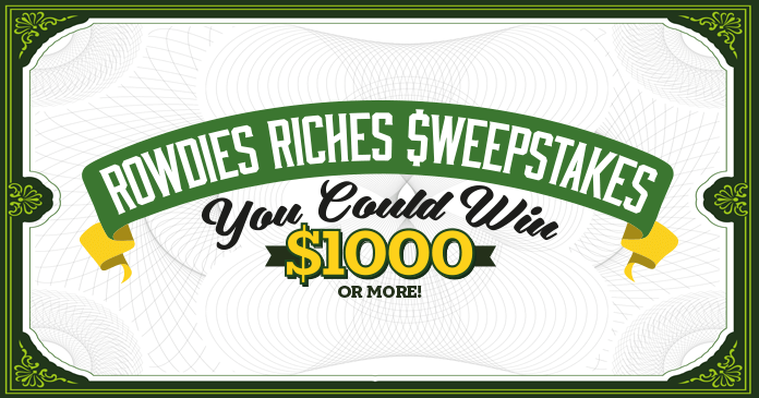 Rowdies Riches Sweepstakes 2017