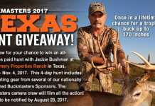 Buckmasters Texas Hunt Giveaway 2017