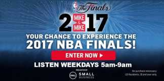 Mike And Mike Dream NBA Finals Sweepstakes