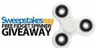 SweepstakesMag Free Fidget Spinner Giveaway