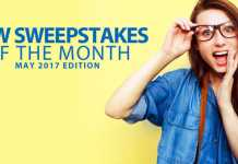 New Sweepstakes May 2017