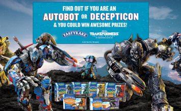 Tastykake & Transformers: The Last Knight Sweepstakes