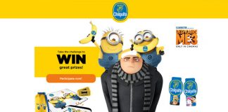 Chiquita Despicable Me 3 Instant Win Game