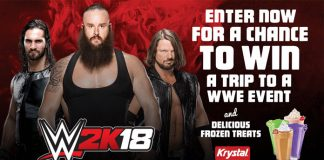 Krystal and WWE Text to Win Sweepstakes