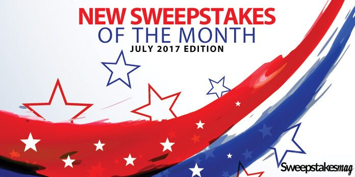 New Online Sweepstakes To Enter In July 2017