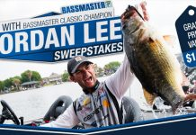 Bassmaster Fish With Jordan Lee Sweepstakes